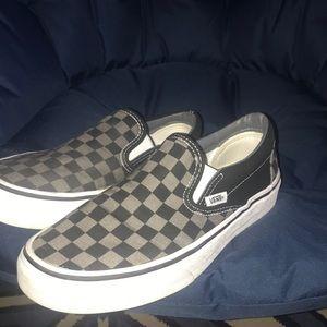 VANS SIZE 7 checkered